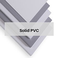 Solid PVC